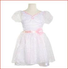 Whimsy & Wonder Sparkly Bride WEDDING DRESS - Costume Dress Up Size 4-6x *NEW*