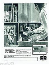 PUBLICITE ADVERTISING 026  1964  Monopoly  meubles éléments