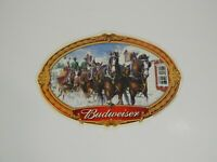 """2000 Budweiser Clydesdale Winter Scene Poster/Ad 15"""" x 10"""""""