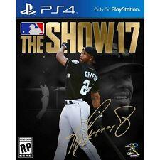 MLB The Show 17 Baseball Sony Ps4