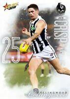 ✺Mint✺ 2019 COLLINGWOOD MAGPIES AFL Card JACK CRISP Footy Stars
