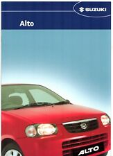 Suzuki Alto 1.1 GL 2004-05 UK Market Sales Brochure
