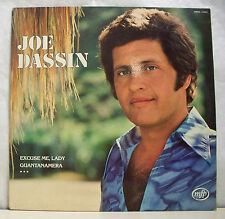"33 tours Joe DASSIN Vinyle LP 12"" EXCUSE ME LADY - GUANTANAMERA -MFP 2M026-13423"