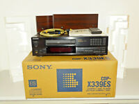 Sony CDP-X339ES High-End CD-Player mit Holzwangen, OVP&NEU, 2J. Garantie