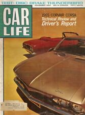 CAR LIFE 1964 NOV - THUNDERBIRD, A/FX COMET, CORVAIR, AGGIE, CHEVY ROYAL MAIL