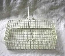 Coated Wirt Basket With Handles