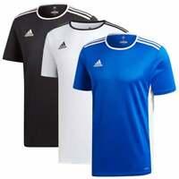 ADIDAS Performance Mens Entrada 18 Jersey T-Shirt (Colours: White, Black, Blue)
