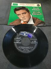 Disque 45 tours Elvis Presley With The Jordanaires - King Creole - 75.475
