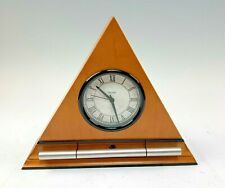 Now and Zen Triangular Clock / Progressive, Gentle Chimes Alarm