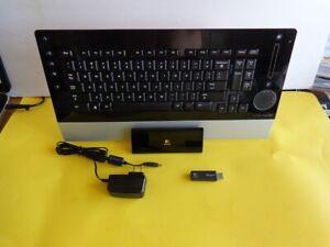 Logitech diNovo Edge Wireless Bluetooth Keyboard for PC in Good Condition
