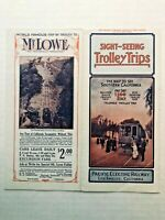 1912 Pacific Electric Railroad Los Angeles Travel Brochure- Great Old Pics