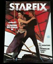 Starfix n°7.  la guerre des étoile III. Août 1983. TBE