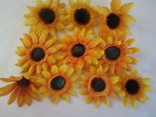 Sunflowers Flower Tops Fall Autumn Artifical Floral Halloween Thanksgiving Decor