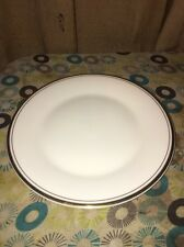 "Royal Doulton English Fine Bone China GOLD CONCORD 8 1/8"" Salad Plates  Mint"