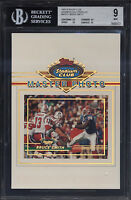 1993 Stadium Club 5x7 Members Only Master Photo Bruce Smith Mint BGS 9 Subs 9.5