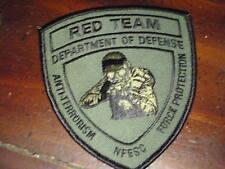 RED TEAM DEPARTMENT OF DEFENSE ANTI TERRORISM FORCE swat subdued  bx p #4