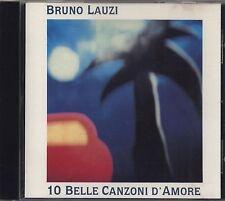 BRUNO LAUZI - 10 Belle canzoni d'amore - CD 1994 NEAR MINT CONDITION