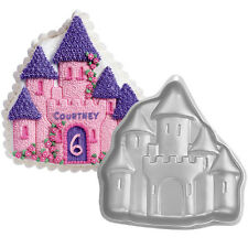 Wilton Baking Enchanted Castle Princess Cake Pan Tin Birthday Celebration NEW