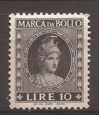 1953-1954 REPUBBLICA MARCA DA L. 10 DEA ROMA TESTA PICCOLA NUOVA MH* - PERFETTA