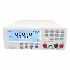 Bench Top Multimeter Vichy VC8145 Multiple Display DC AC Current Voltage Diode
