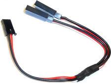 C3001-2 Compatible Futaba Connector Servo Y Extension Lead Wire 15cm 150mm