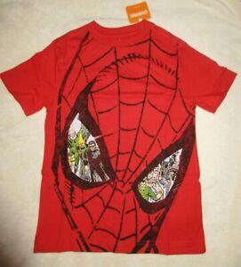 Gymboree Spider-Man Tee Shirt Gymfriends Size M 7-8 NWT