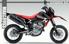 HONDA CRF250L CRF250M MAXCROSS GRAPHICS KIT DECALS DECAL STICKERS FULL KIT #8