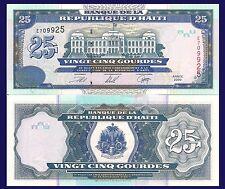 Haiti P266, 25 Gourde, Palace of Justice, Port-au-Prince, see UV, 2000 UNC