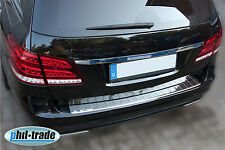 Mercedes S212 W212 T Modell CHROM 304er Edelstahl Ladekantenschutz Abkantung