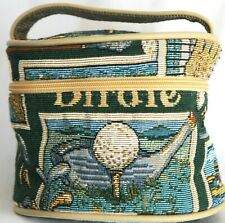 Miss Bonnie California Make up Cosmetic Bag Golf Travel Tapestry  Toiletry Pouch