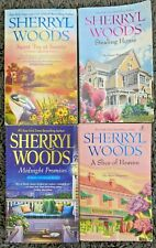 SHERRYL WOODS 100% SWEET MAGNOLIAS TITLES 4 BOOK LOT PAPERBACK ROMANCE NOVELS L2
