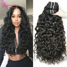8A Brazilian hair Water Wave Virgin Hair 3Bundles/300g 100%25 Human Hair Extension