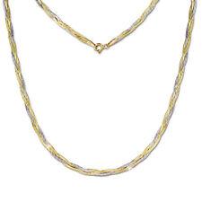 SilberDream Collier Kette Geflochten 333 Gold Damen 45cm 8 Karat GDK00045T