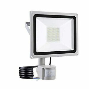 50 W Led Floodlight Outdoor Security Lights with Motion Sensor Waterproof IP65 6