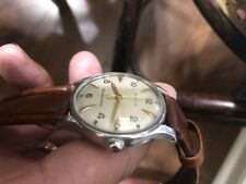 Vintage Bulova Mans Watch Automatic All stainless steel! New Band!