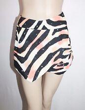 Angel Biba Brand Multi Animal Print Skorts Shorts Size 8 BNWT #Si53