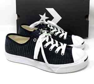 Converse Jack Purcell Low Velvet Black Men's Sneakers Size 10 10.5 11.5 165139C
