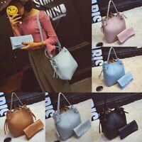 Women Leather Handbag Messenger Satchel Shoulder Crossbody Bag Clutch Wallet !