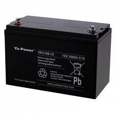 Batterie décharge lente Camping car bateau Yuasa 12V 100AH YPC100-12 330X173X220