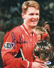 STEVE KERR SIGNED AUTOGRAPHED 8x10 PHOTO CHICAGO BULLS PSA/DNA