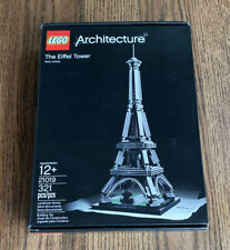 LEGO Architecture The Eiffel Tower (21019) Brand New Factory Sealed Retired
