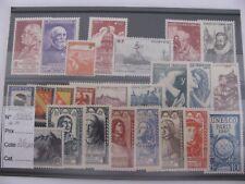 timbres France neufs sans charnière année complète 1946 cote 26 euros
