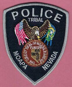 MOAPA NEVADA TRIBAL POLICE SHOULDER PATCH