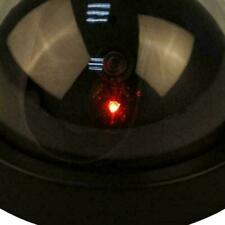 Dummy Cctv Camera Security Dome Surveillance Cam Fake Led Re Light Flashing T4J9