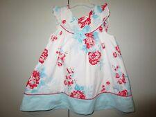 Girls Size 1 Pumpkin Patch frill cap sleeve floral yoke dress  12-18mths