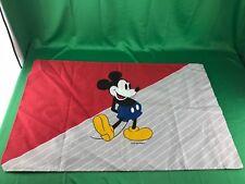 Vintage Disney Mickey Mouse Pillow Case
