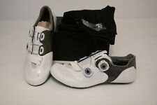 New Specialized S-Works 6 Road Bike Shoes 40 9 Women's Carbon White 3-Bolt BOA