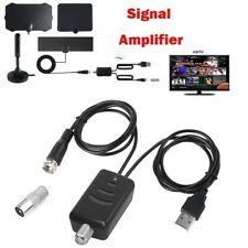 HDTV Antenna Signal Amplifier Booster Digital For Cable TV Fox HD 20DB IcMgV
