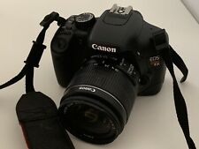 Canon EOS Rebel T2i / EOS 550D DSLR Camera W/ Lens (DOES NOT INCLUDE CHARGER)