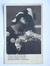 old postcard cartolina PIERROT Colombina vintage lovers amanti